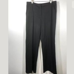 St John Sport 14 Black Trousers Pants Straight Leg